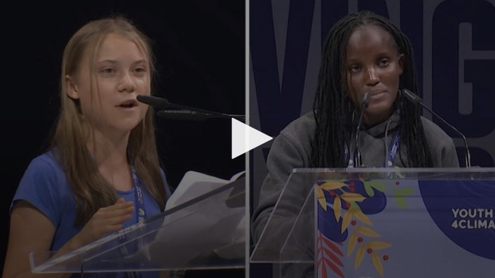 Youth Climate Activists Slam Political Inaction at U.N. Summit Ahead of COP26